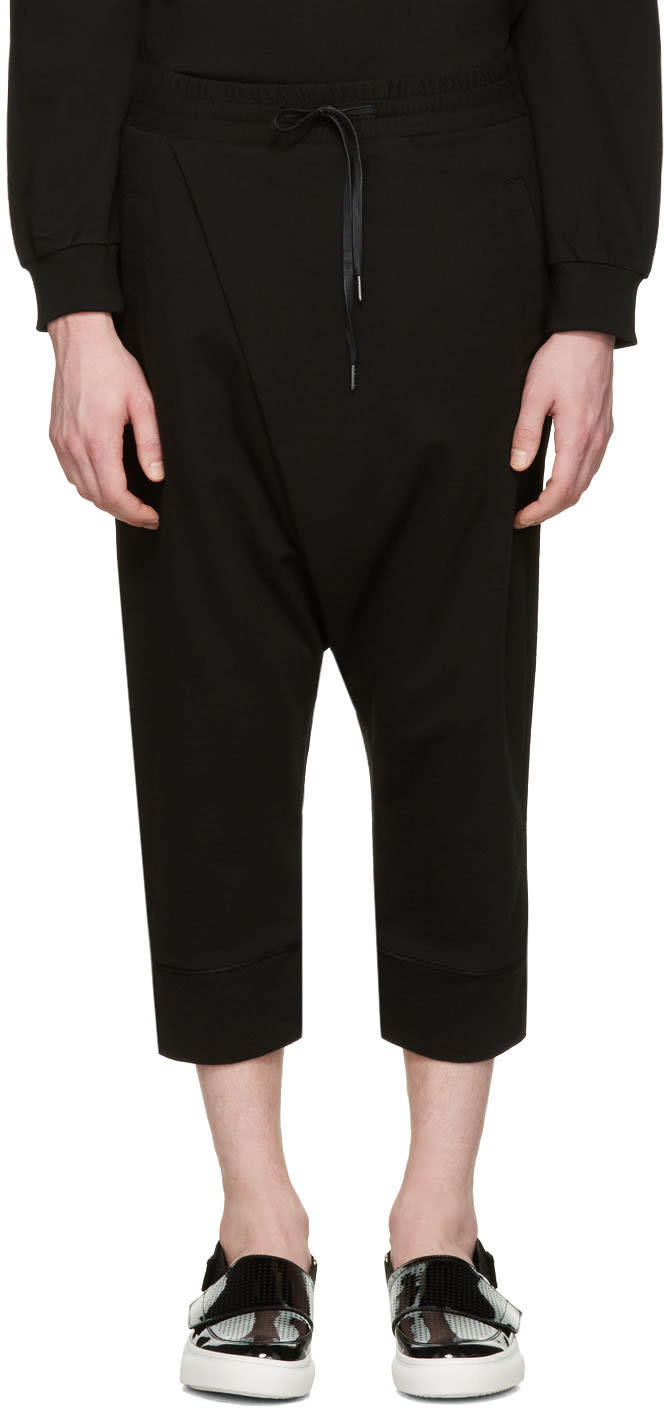 D By D Black Wrap Lounge Pants