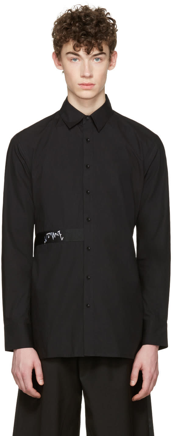 D By D Black Back Strap Shirt