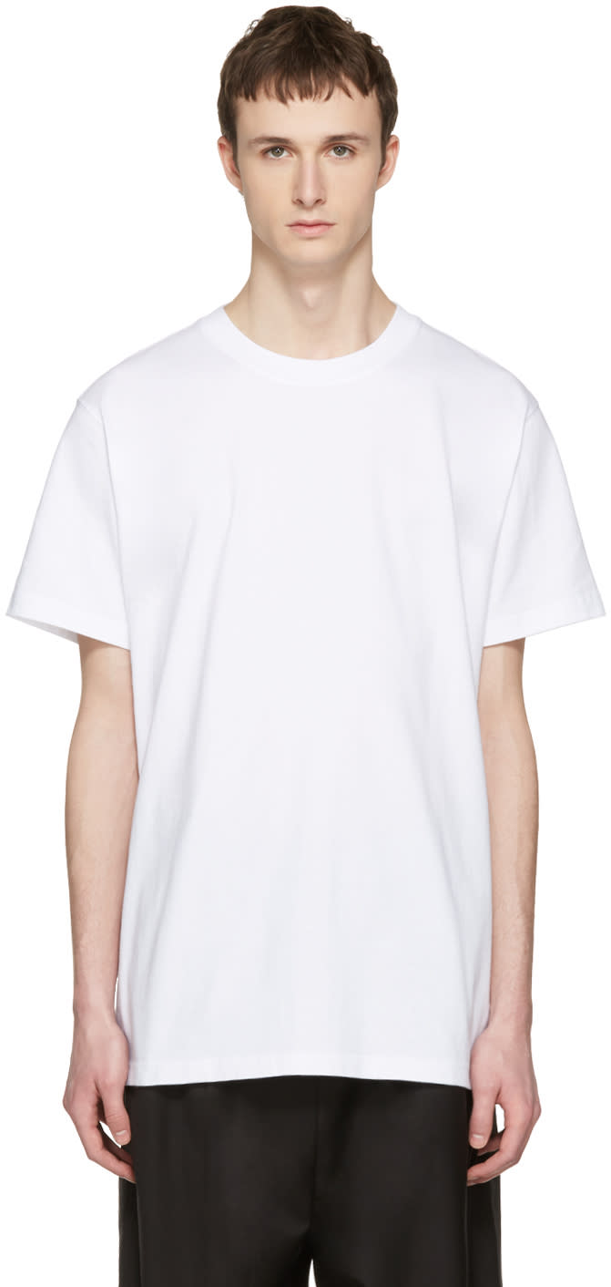 D By D White new Wave T-shirt