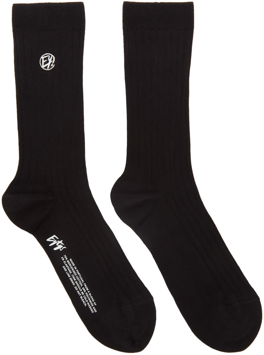 Eytys Black Kelly Socks