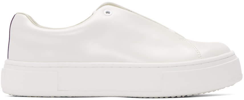 Eytys Off-white Leather Doja Sneakers