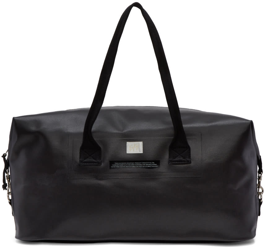 Eytys Black Void Weekender Bag