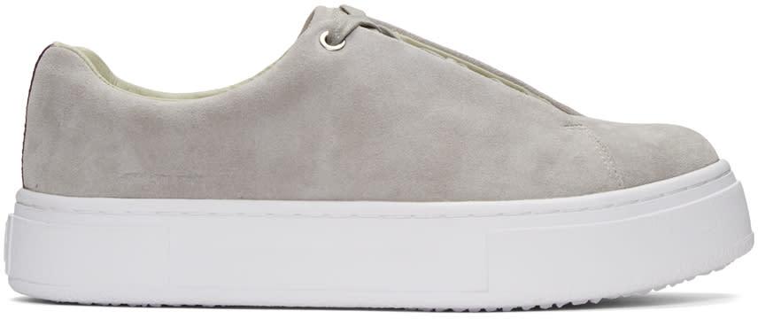 Eytys Grey Suede Doja Sneakers