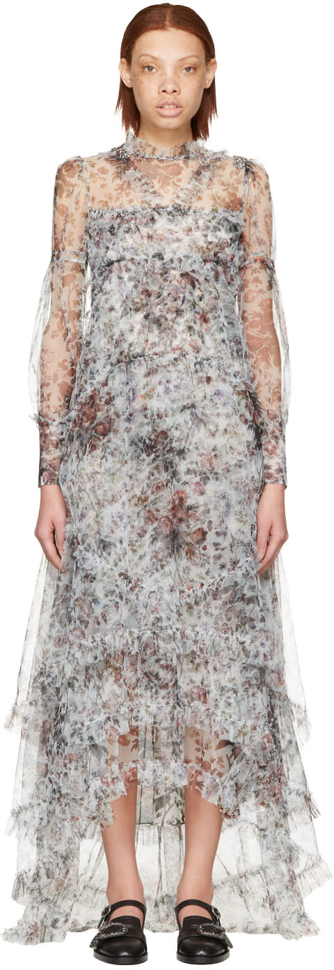 Erdem White Stacey Dress