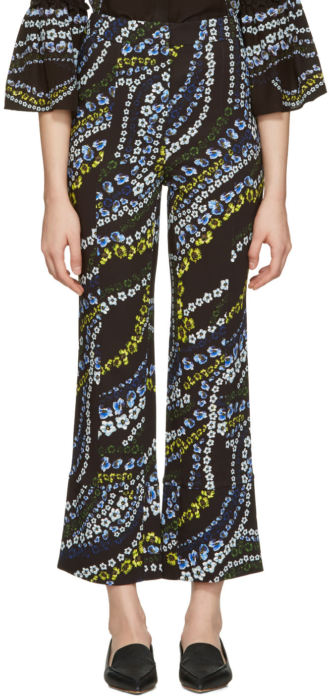 Erdem Black Verity Trousers