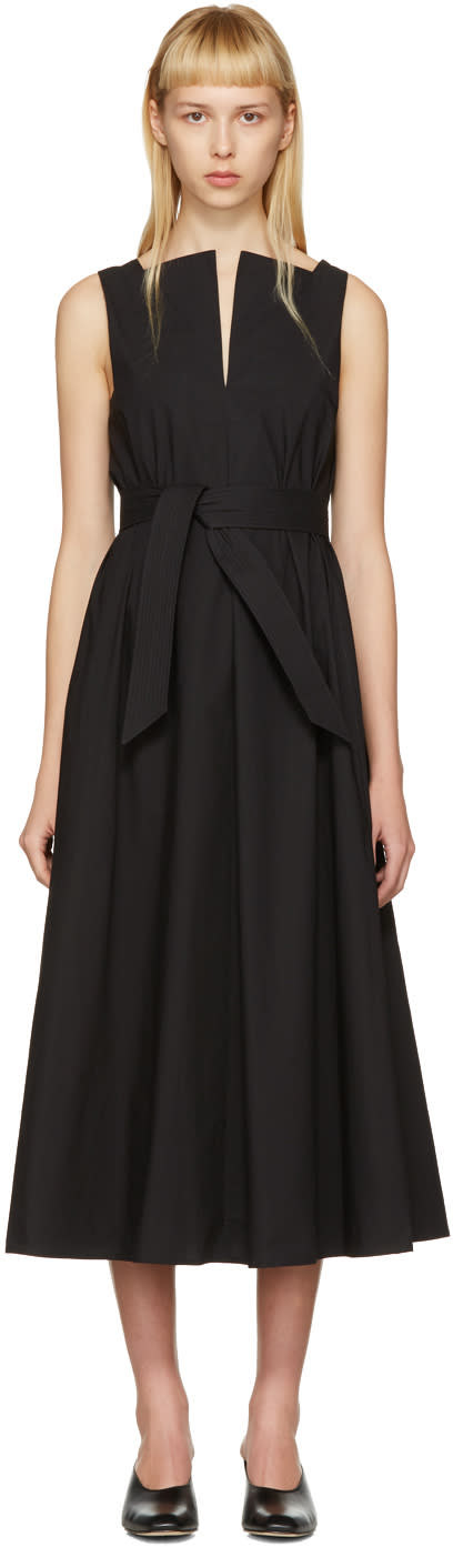 Lemaire Black Flared Dress