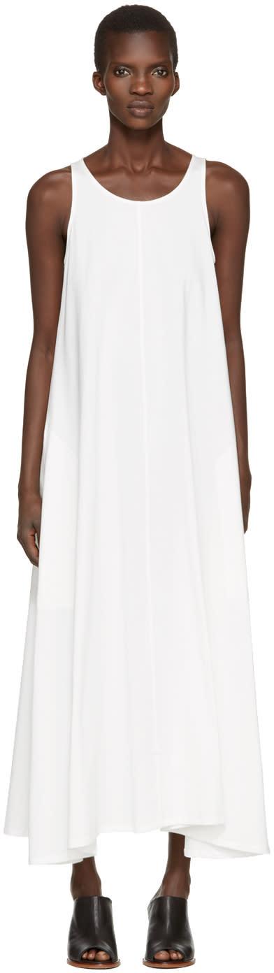 Lemaire White Sleeveless Dress