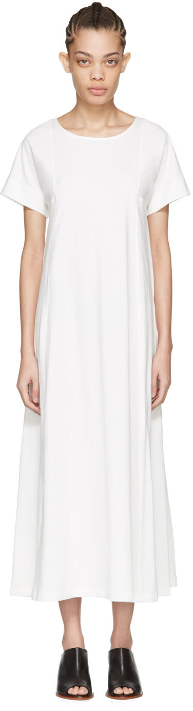 Lemaire White T-shirt Dress