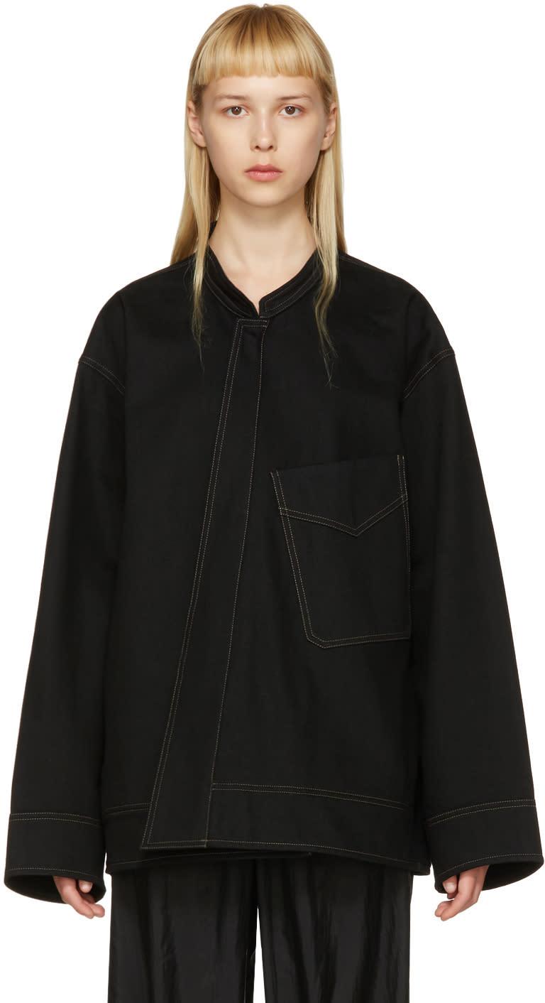 Lemaire Black Vareuse Jacket