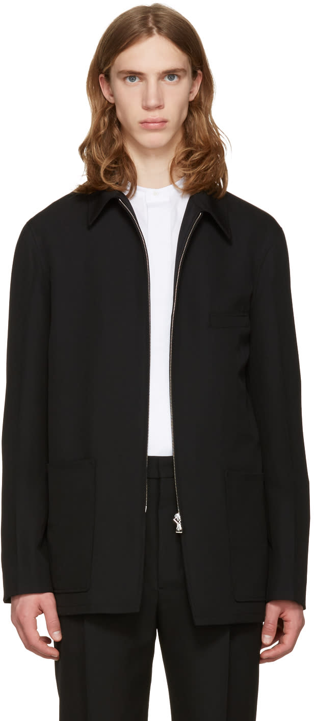 Lemaire Black Zipped Jacket