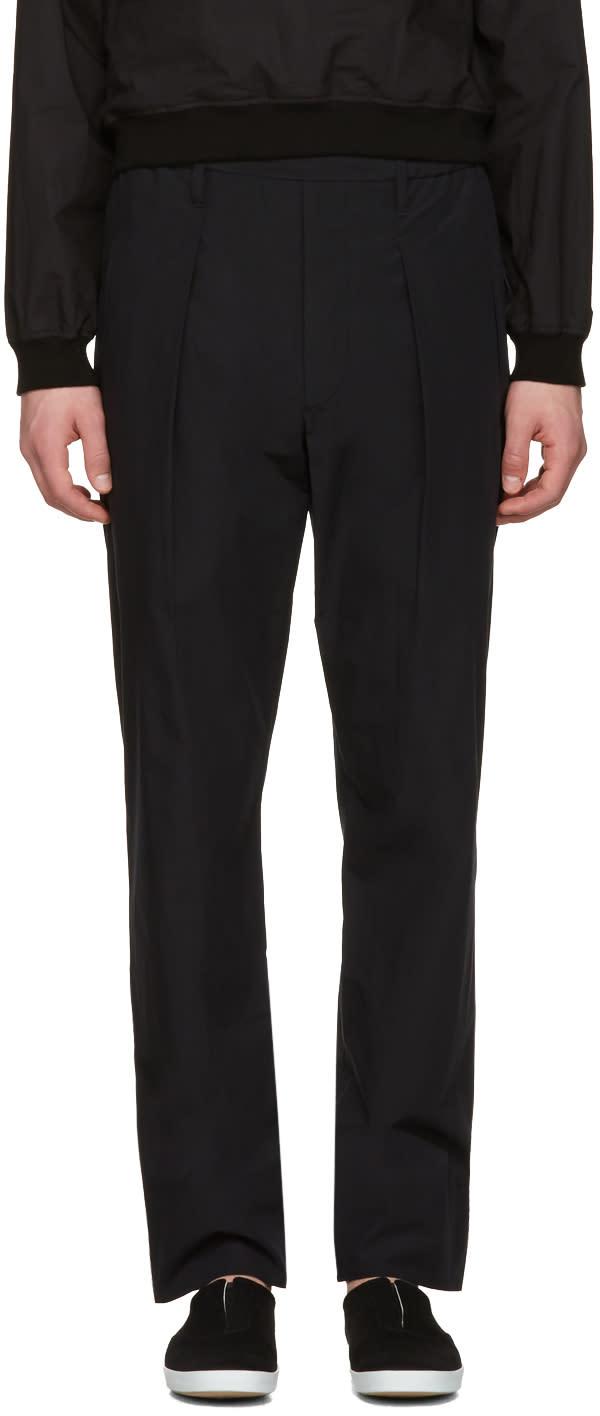 Lemaire Black Boxer Trousers