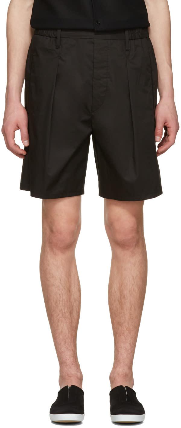 Image of Lemaire Black Boxer Shorts
