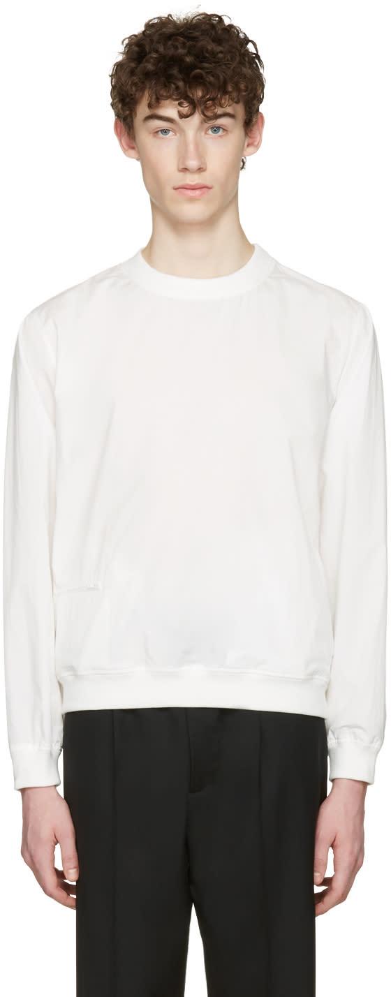 Lemaire White Poplin Pullover