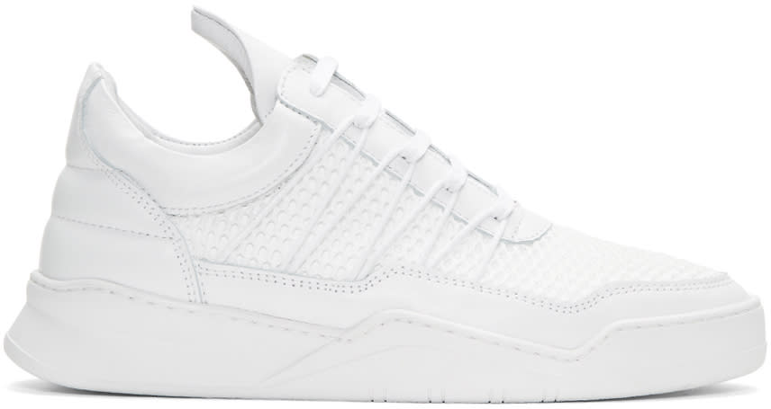 Filling Pieces White Cane Ghost Sneakers