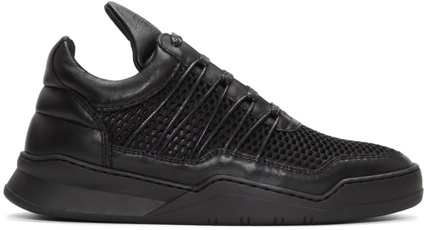 Filling Pieces Black Cane Ghost Sneakers