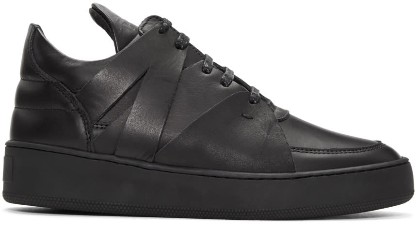 Filling Pieces Black Augusta Sneakers
