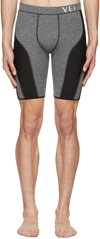 Versace Underwear グレー ランニング ショーツ