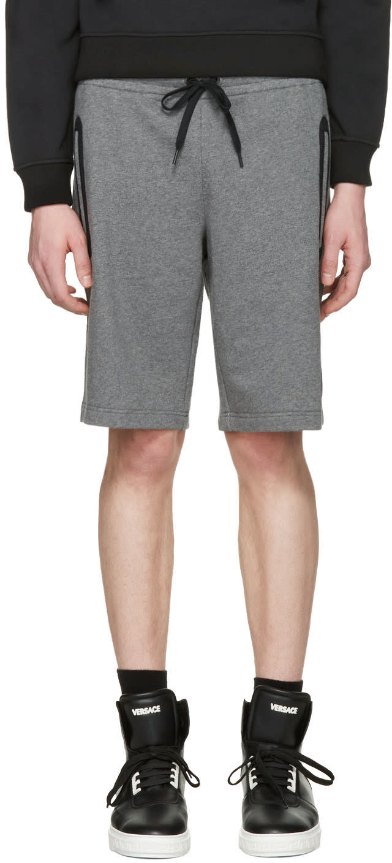 Versace Underwear グレー メドゥーサ バッジ ショーツ