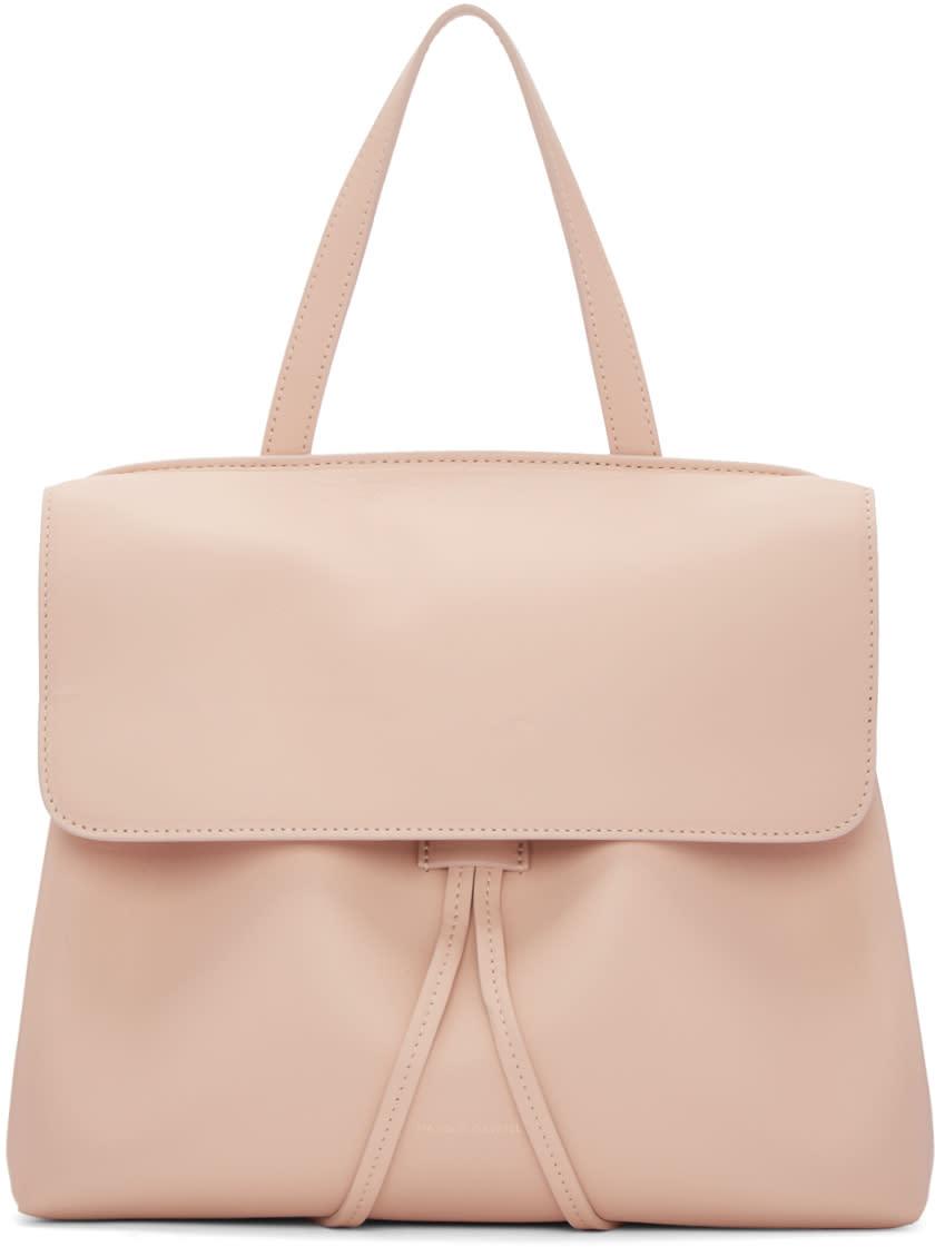 Mansur Gavriel Pink Leather Mini Lady Bag