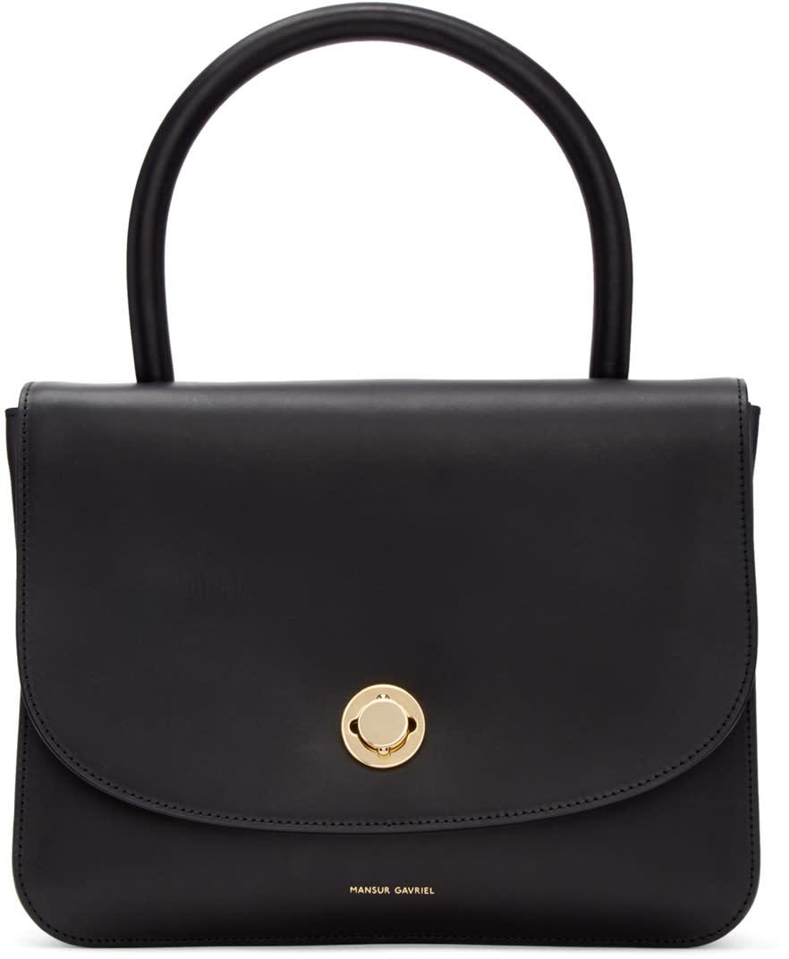 Mansur Gavriel Black Metropolitan Bag