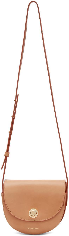 Mansur Gavriel Tan Mini Saddle Bag