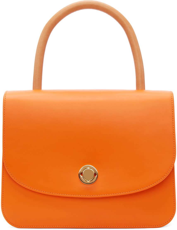 Mansur Gavriel Orange Metropolitan Bag