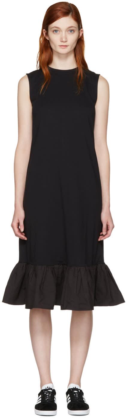 Edit Black Peplum Dress