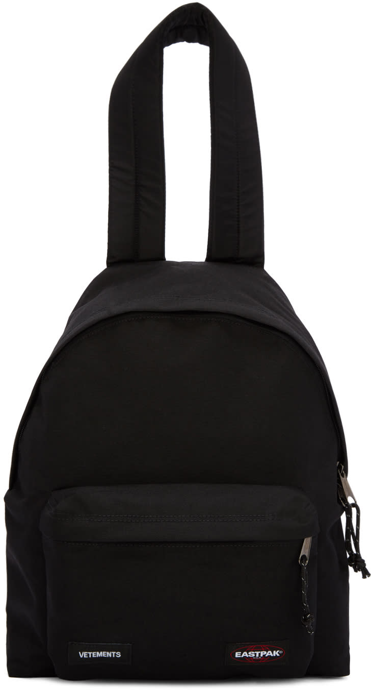 Vetements Black Eastpack Edition Pakr Backpack