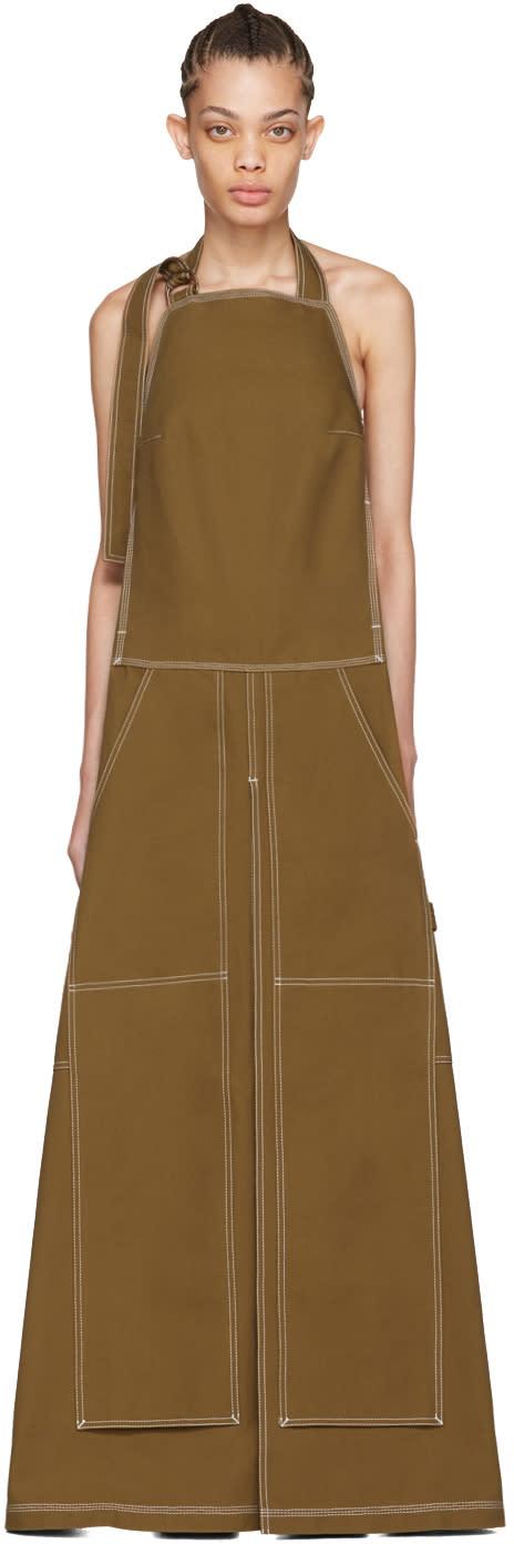 Vetements Beige Carhartt Edition Apron Dress