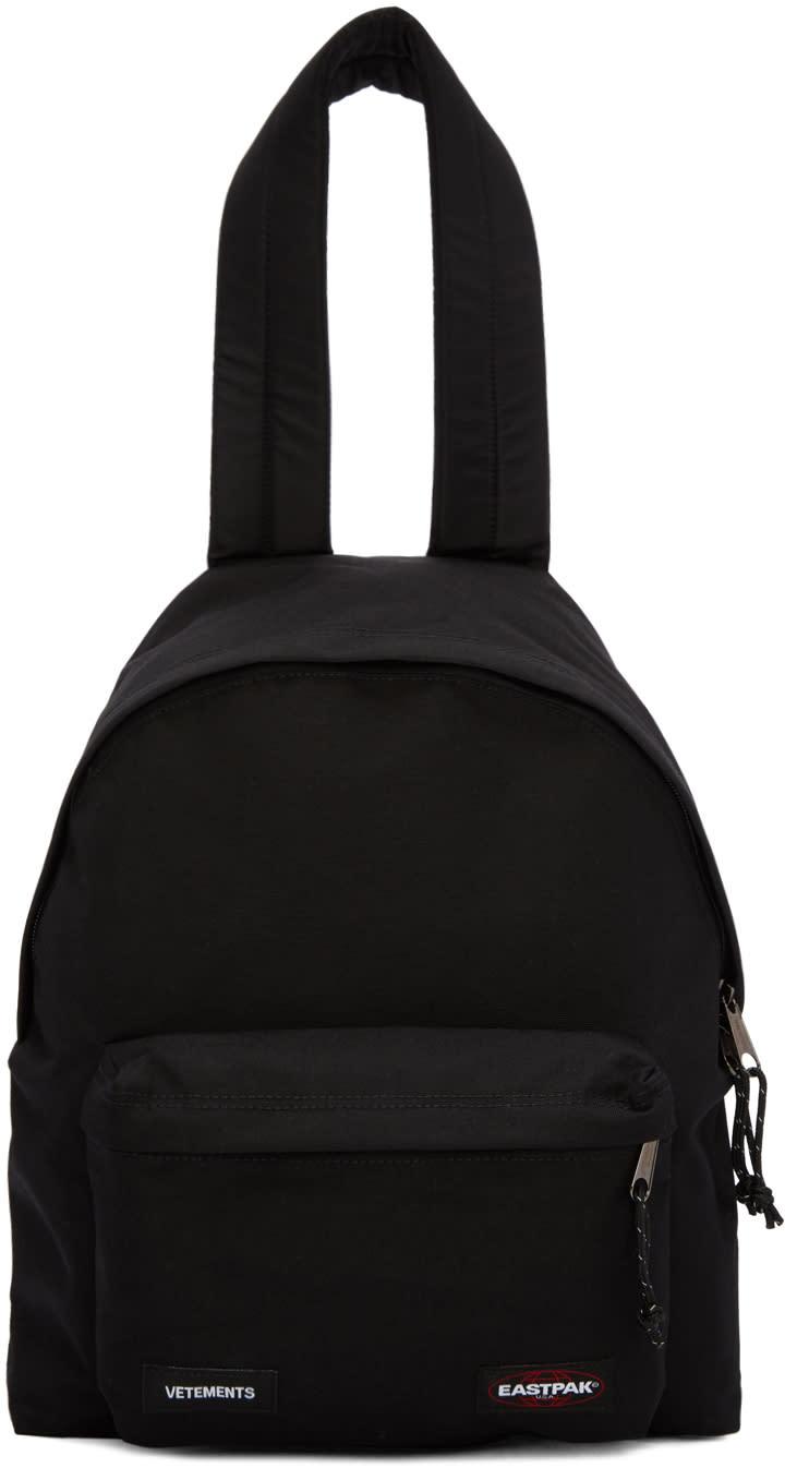 Vetements ブラック Eastpack Edition Pakr バックパック