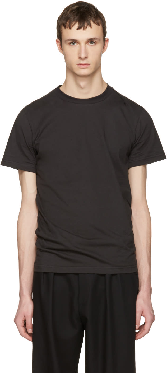 Vetements Black Hanes Edition Quick Made T-shirt