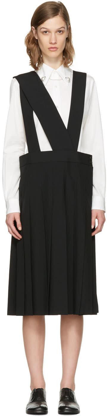 Image of Comme Des Garçons Comme Des Garçons Black Apron Dress
