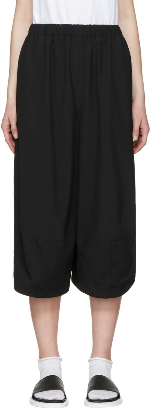 Image of Comme Des Garçons Comme Des Garçons Black Balloon Trousers