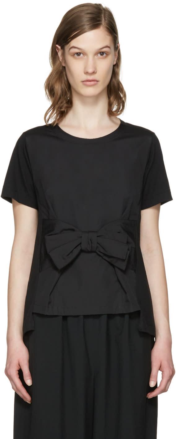 Image of Comme Des Garçons Comme Des Garçons Black Bow T-shirt
