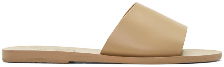 Ancient Greek Sandals Brown Taygete Sandals