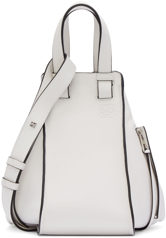 Loewe White Small Hammock Bag