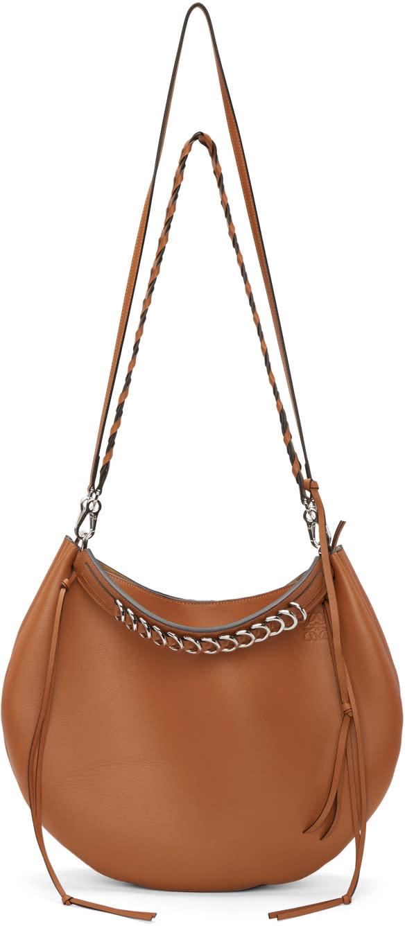 Loewe Tan Fortune Hobo Bag at SSENSE