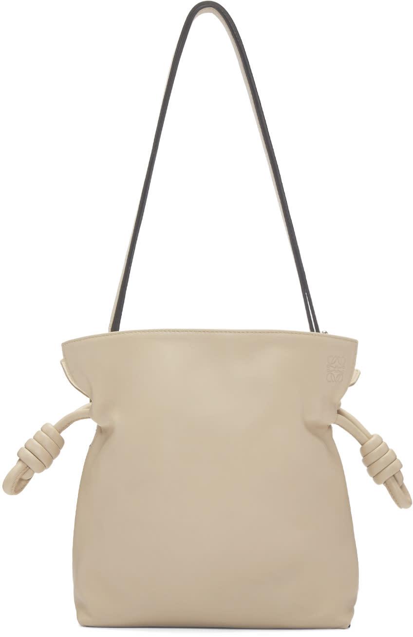 Loewe Beige Small Flamenco Knot Bag