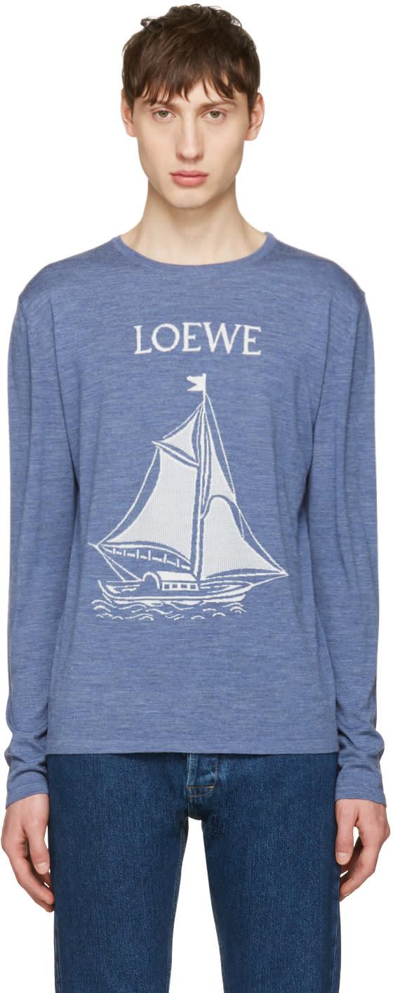 Loewe ブルー ボート セーター