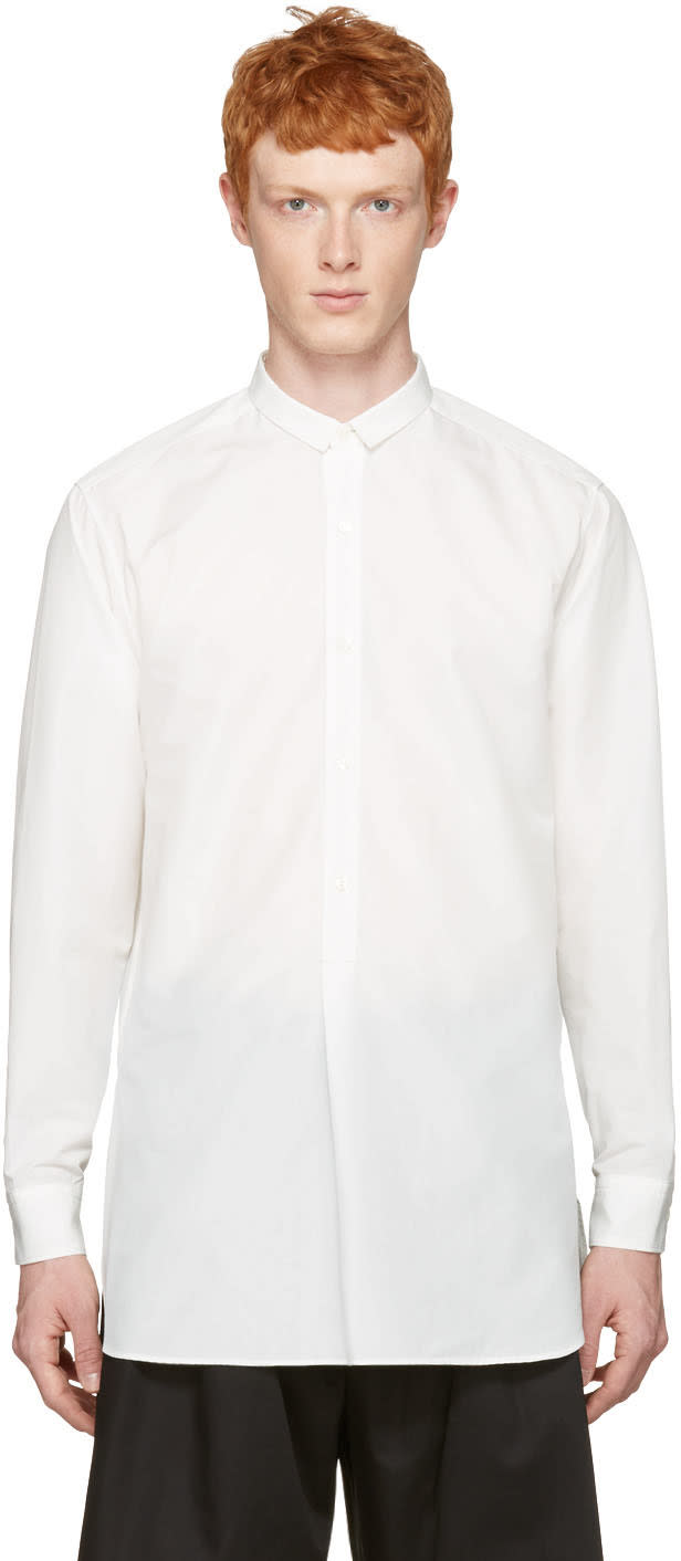Toga Virilis White Long Shirt