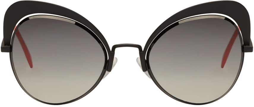Fendi Black Butterfly Sunglasses