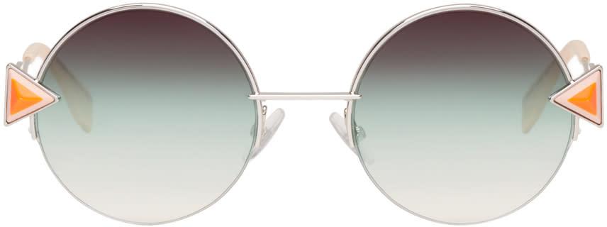 Fendi Silver Rainbow Sunglasses