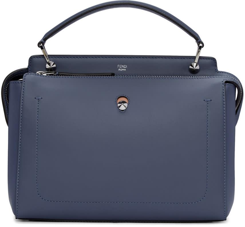 Fendi Blue Dotcom Click Bag
