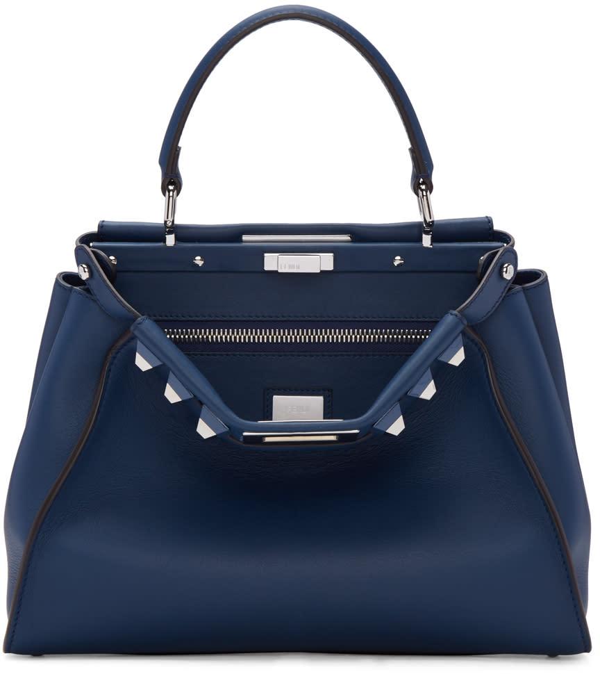 Fendi Blue Peekaboo Bag