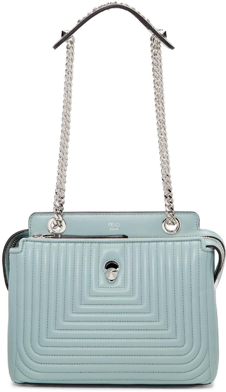 Fendi Blue Small Dotcom Click Bag