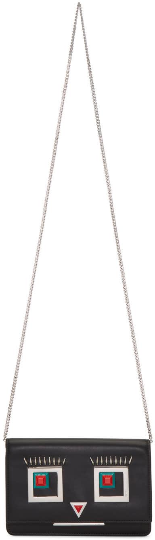 Fendi Black Tube Wallet Shoulder Bag