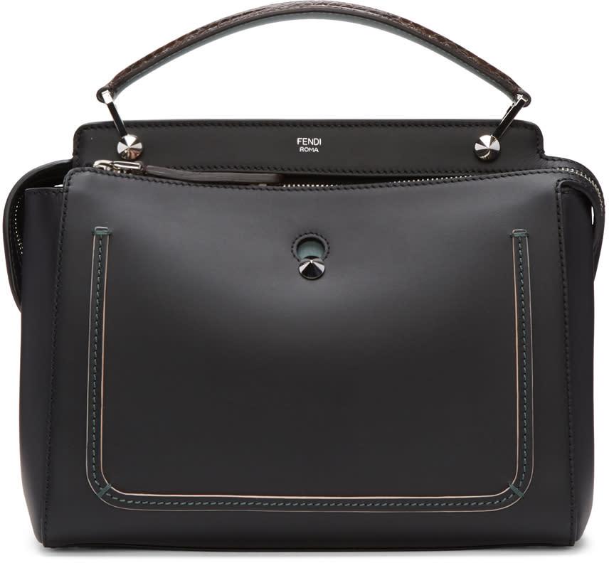 Fendi Black Dotcom Click Bag