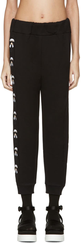 Fendi Black Karlito Lounge Pants