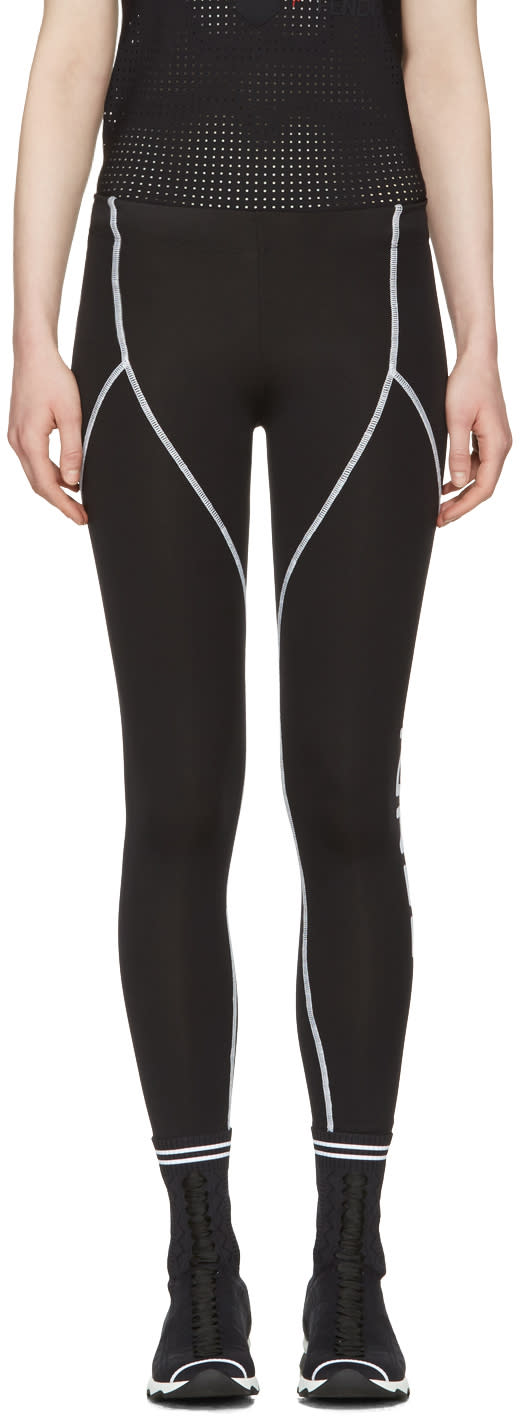 Fendi Black Yoga Leggings