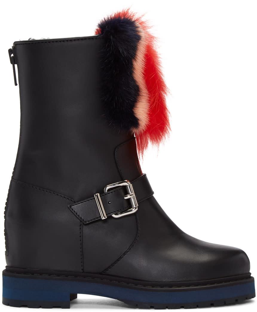 Fendi Black Caroline Boots